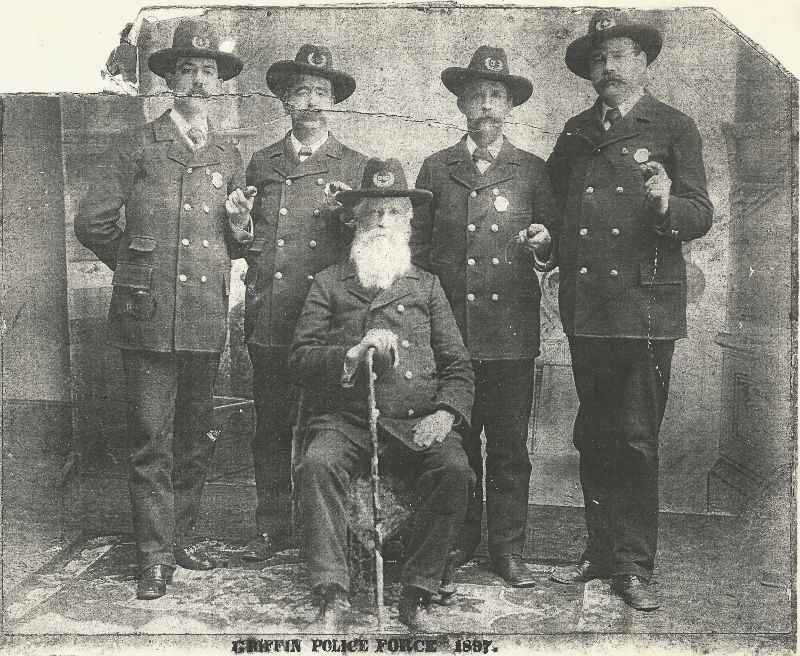Griffin Georgia - Police 1897