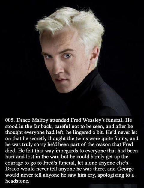 Malfoy revelation