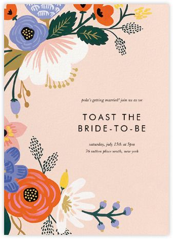 Rifle paper co online and paper paperless post web design beautiful custom wedding invitations from paperless post filmwisefo Images