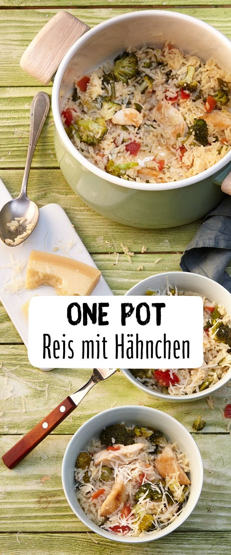 One Pot Reis mit Hähnchen #easyonepotmeals