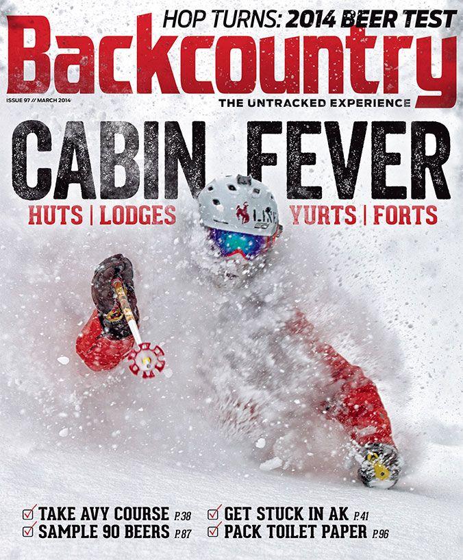 Backcountry magazine giveaways