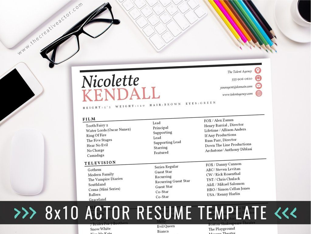 Acting resume template 011 acting resume acting