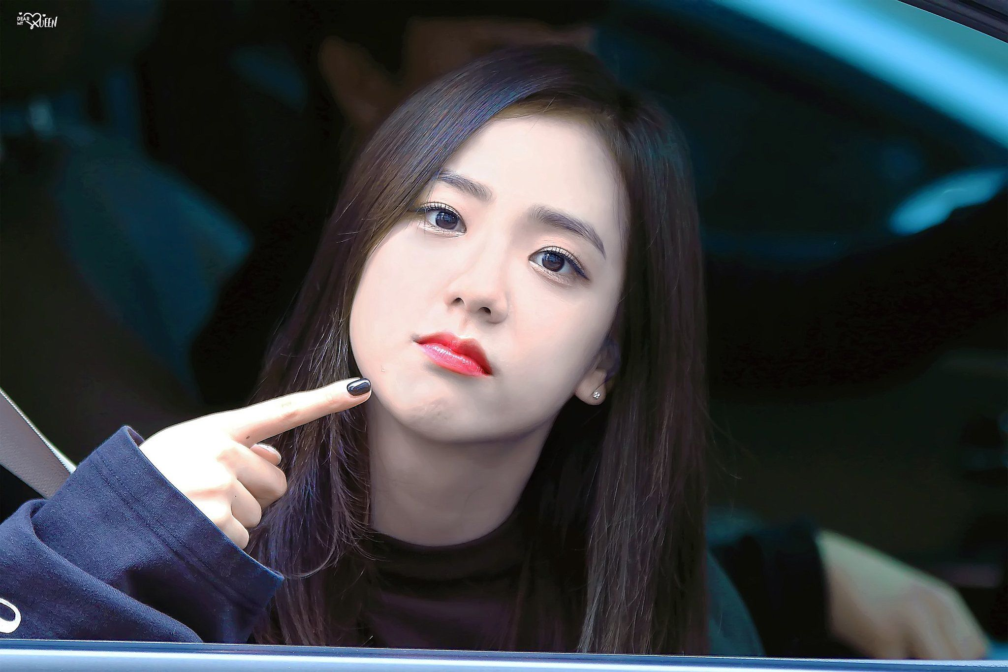 11 11 Korean Stars Who Topped The Partial List Of World S Top 100 Beautiful Faces Of 2017 Blackpink Jisoo Blackpink Black Pink