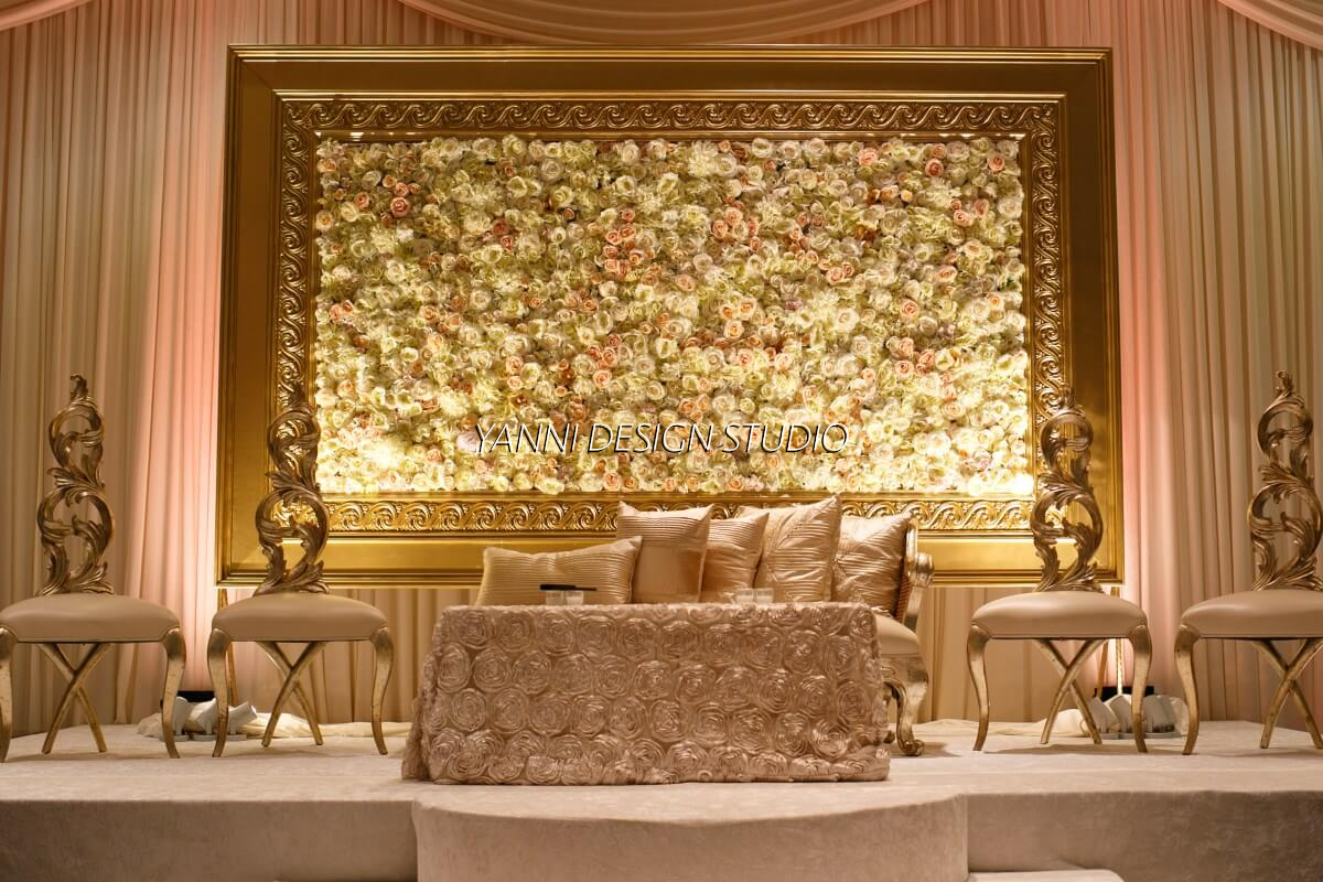 Muslim and pakistani wedding stage decoration valimah nikah dcor muslim and pakistani wedding stage decoration valimah nikah dcor walima flowers unique design for muslim and junglespirit Image collections