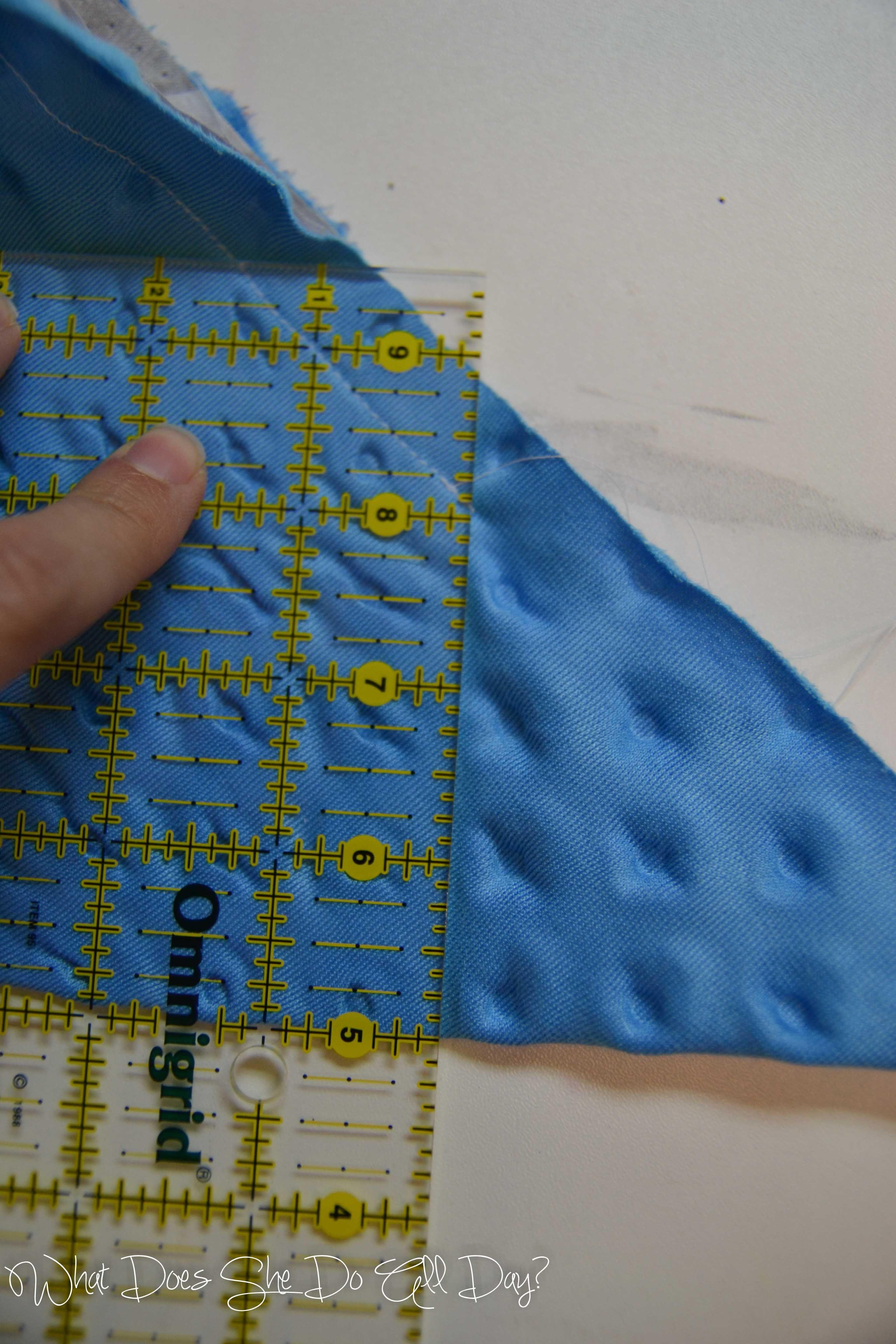 Self binding blanket tutorial x finished blanket ud flannel