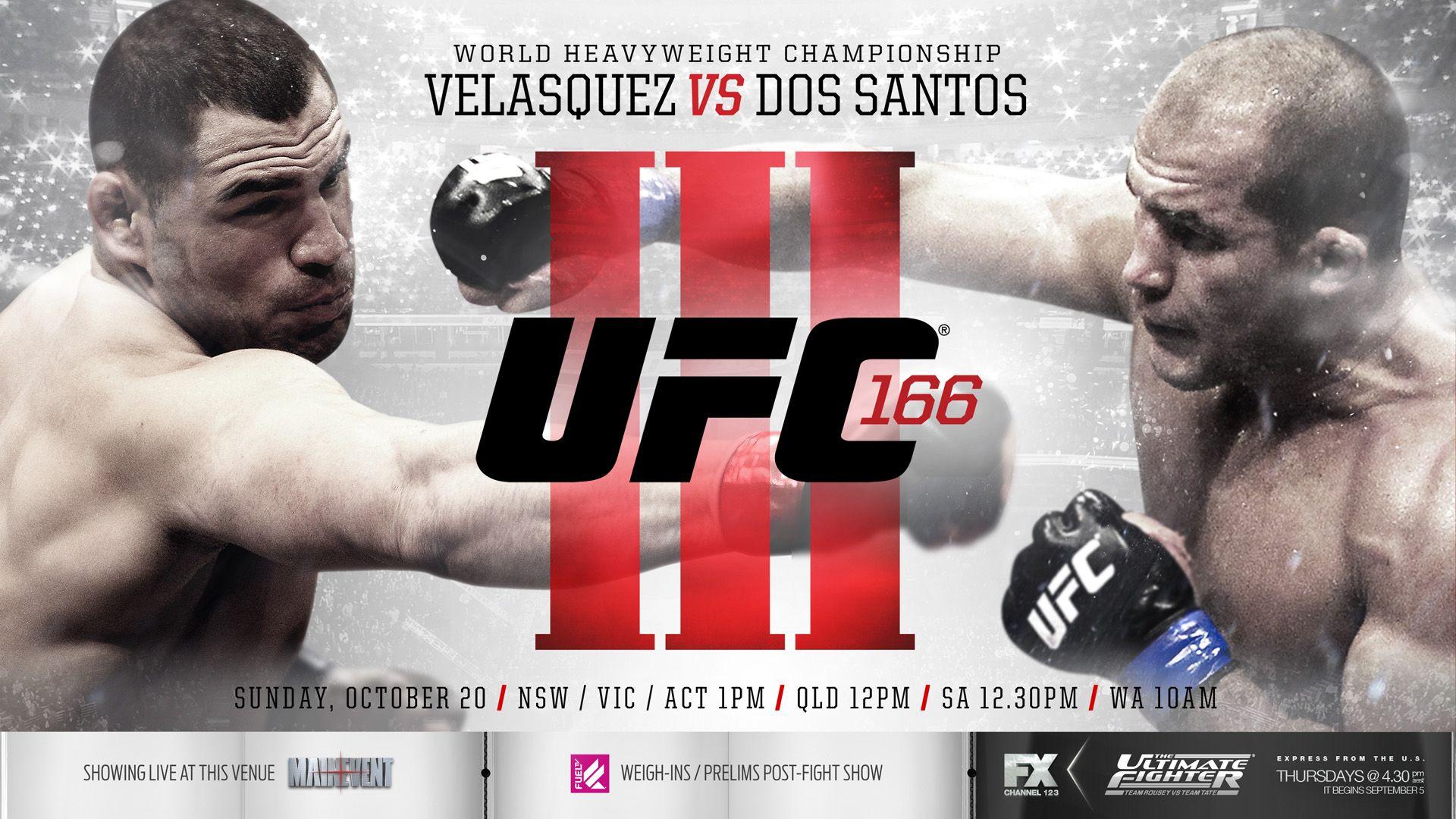 Wallpaper for UFC 166 | Cain velasquez, Ufc, World heavyweight ...