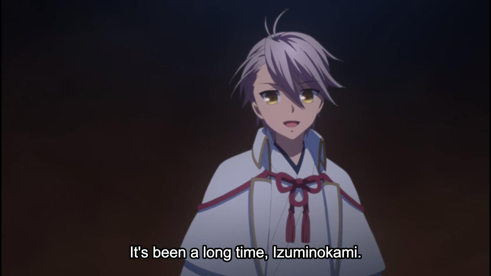 Katsugeki Touken Ranbu Action! I drink and watch anime