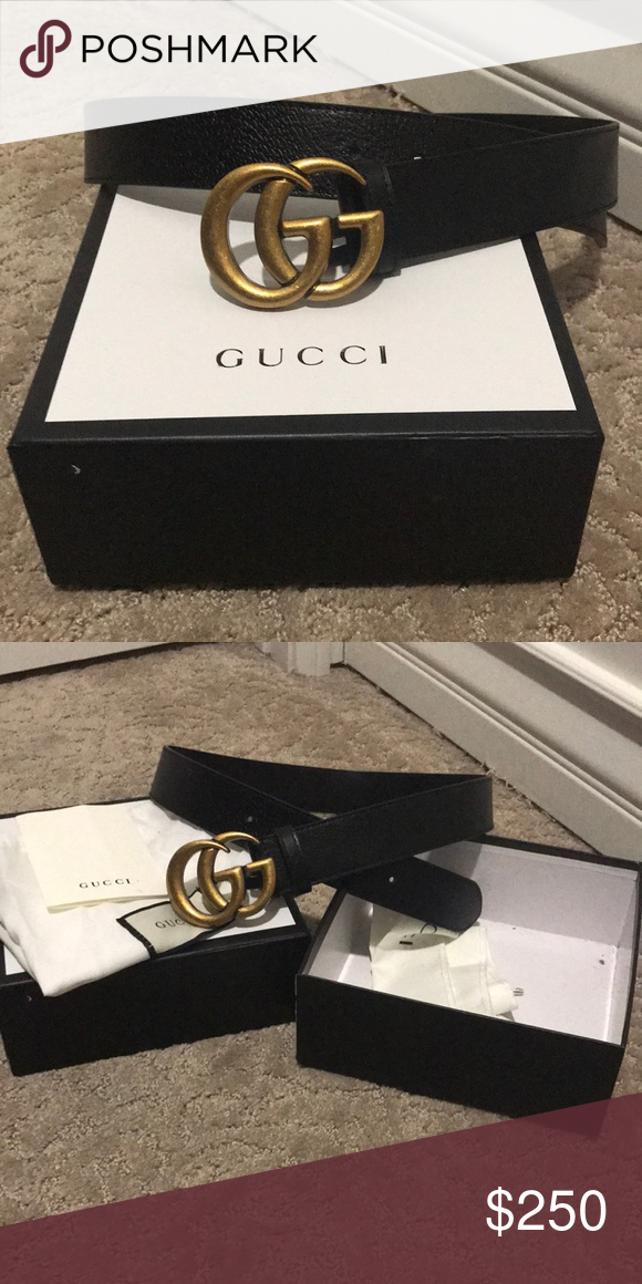 47e1cd758309 Beautiful new Gucci belt. Comes with box, dust bag, authenticity card.  Final price :) not taking offers. Gucci Accessories Belts