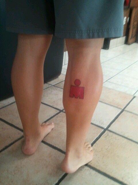 Ironman tatoo