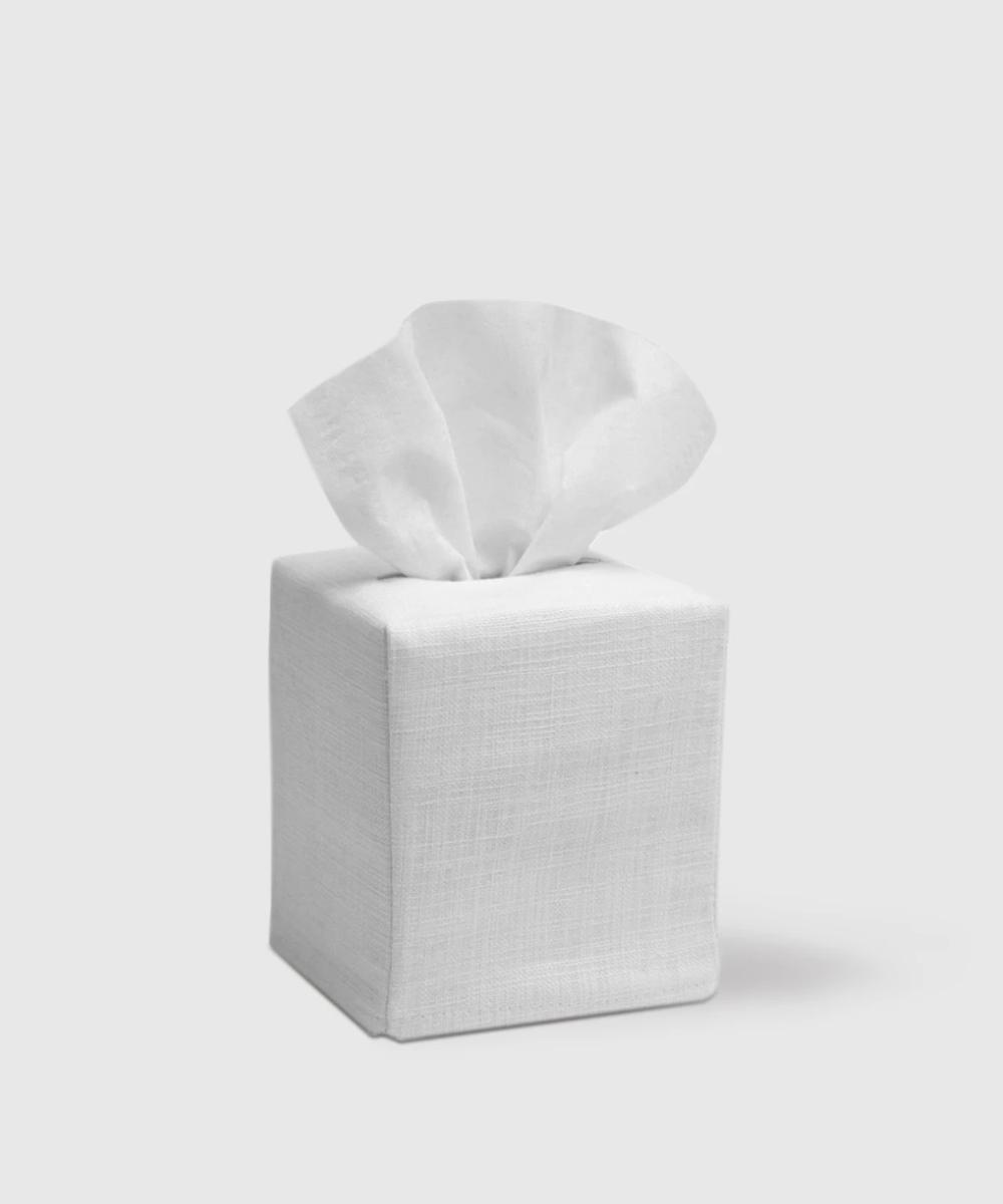 Linen Cotton Simple Tissue Box Cover Tissue Box Covers Tissue Boxes Covered Boxes