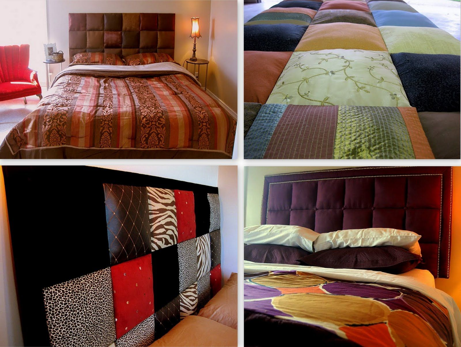 Easy upholstered tufter headboard tutorial camping rv - What to use instead of a headboard ...