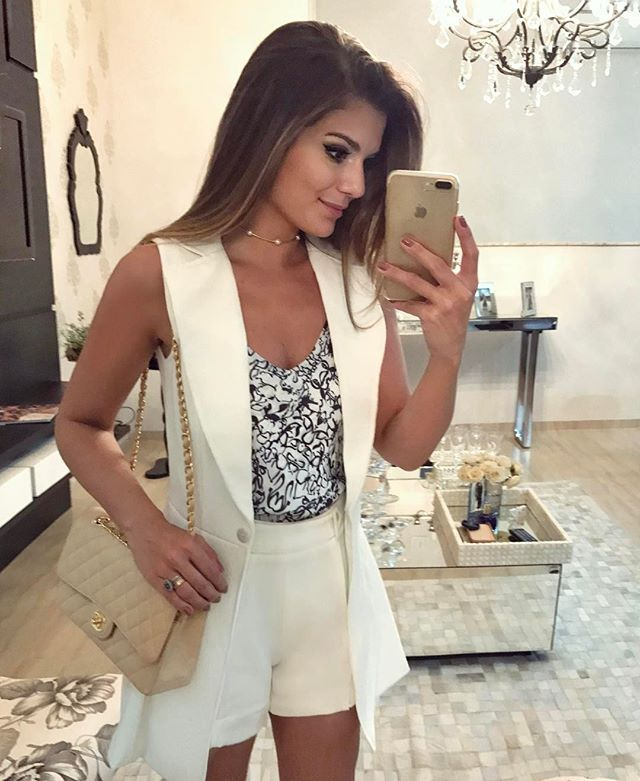 Sunday ♥   De conjunto  anahovastore Maxi colete e shortinho alfaiataria!  •  ootd  selfie  blogtrendalert  sundaylook - Blog Trend Alert  ( arianecanovas) bae4eed92f7ac