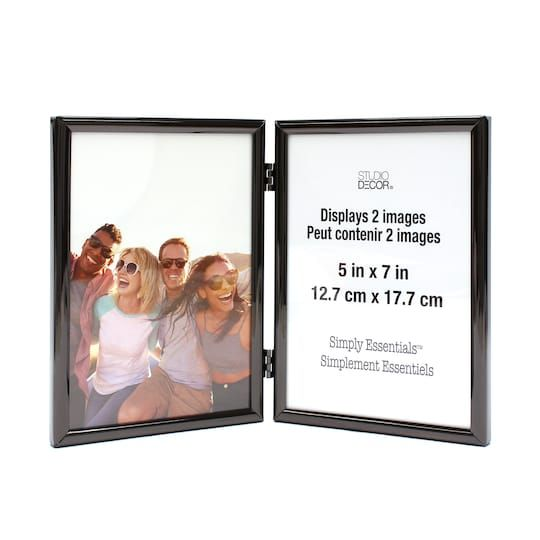 Black Hinged Metal Frame 5 X 7 Simply Essentials By Studio Decor Michaels Frame Photo Arrangement Studio