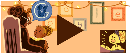 Glad internationell kvinnodag! #GoogleDoodle