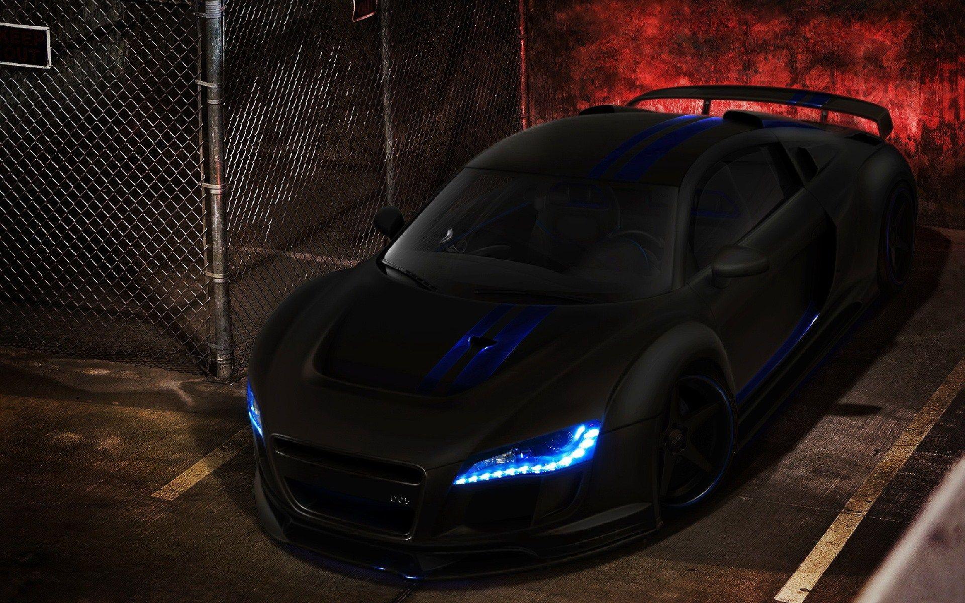 50 Super Sports Car Wallpapers That Ll Blow Your Desktop Away Black Audi Audi R8 Black Audi R8 Wallpaper