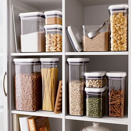 Oxo Pop Containers In Food Storage My Pantry Will Look Like