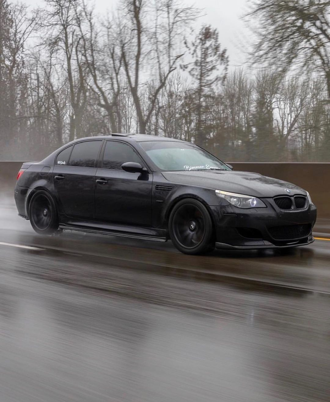 Bmw E60 M5 Black With Images Bmw M5 Bmw M5 E60 Bmw Cars
