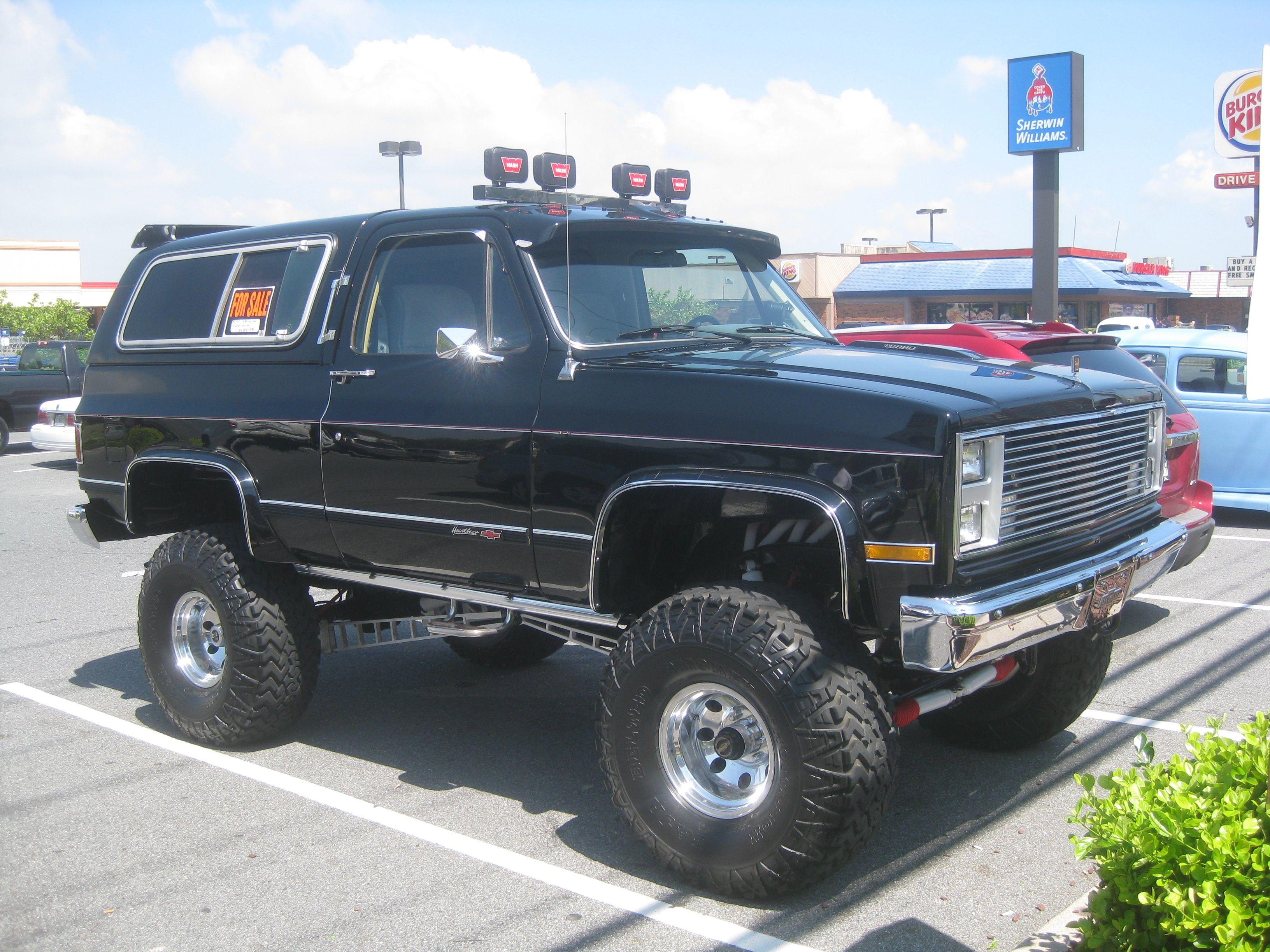 Chevrolet K5 Blazer K5 Blazer Chevy Blazer K5 Chevy