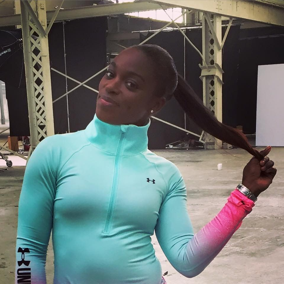 Sloane Stephens young American tennis star ! From her FB post March 2016