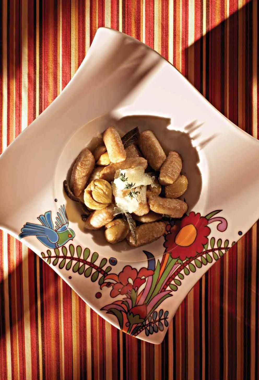 Chestnut and Potato Gnocchi with Sage and Brown Butter