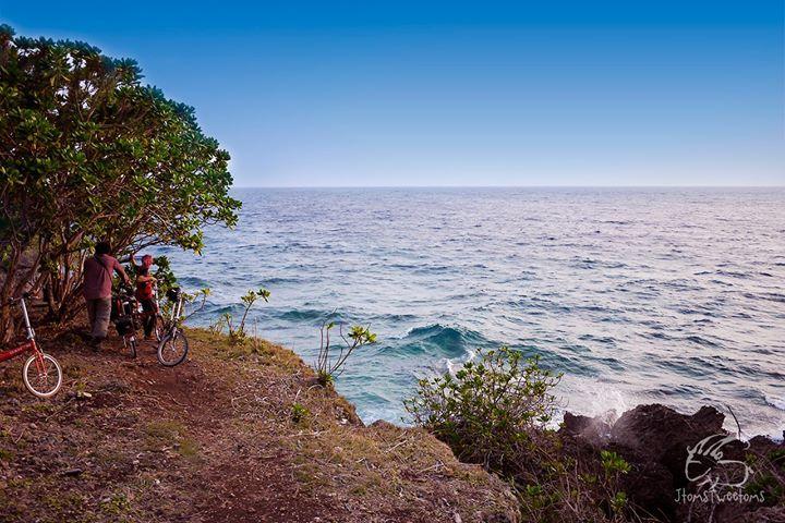 Facing The Open Sea - Epic ride to Cape San Agustine, Governor Generoso, Davao Del Norte. Photo by: John Tomesa