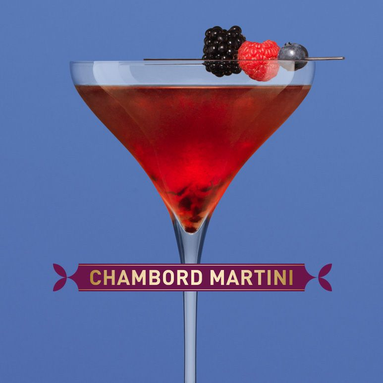 Martini Recipes, Raspberry