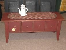 Primitive Coffee Table   Need This One In Distressed Black For My New  Living Room,
