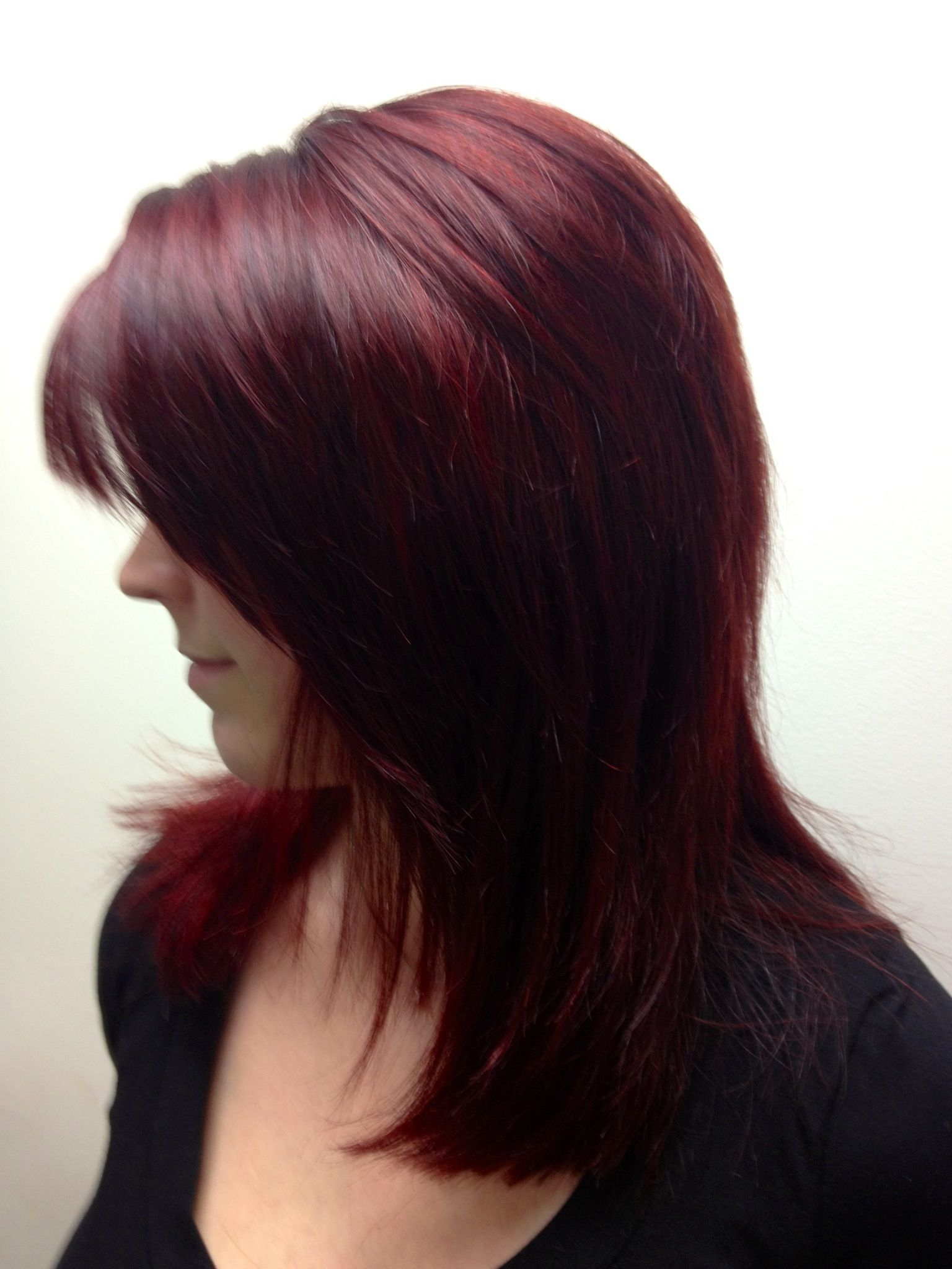Top Hairdressers : AVEDA Love this red