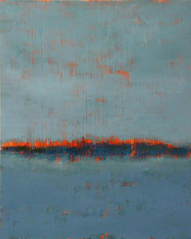 Mattie iverson cold wax painting art abstract for Wax landscape