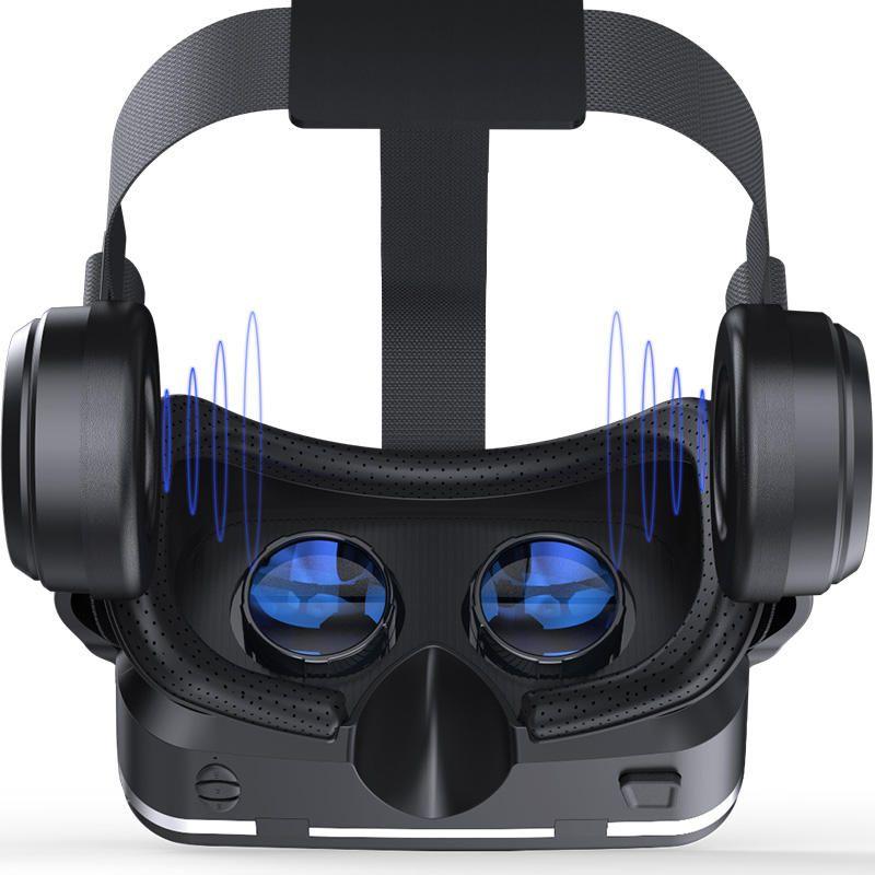 4f3aff3b74c VR Shinecon 6.0 360 Degree Stereo 3D Virtual Reality Glasses Box Headset  for 4.7-6.0 inch Smartphone Sale - Banggood.com
