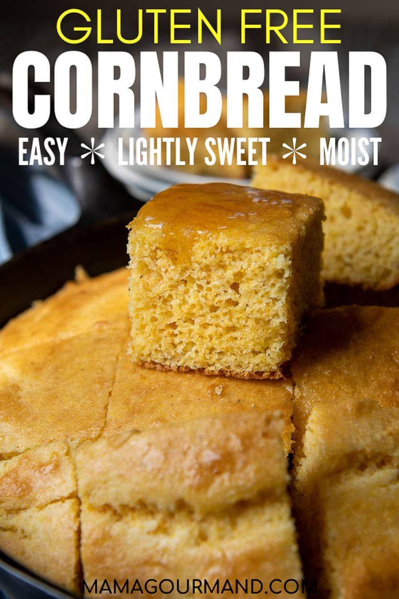 Gluten Free Cornbread Recipe In 2020 Gluten Free Cornbread Best Bread Recipe Recipes