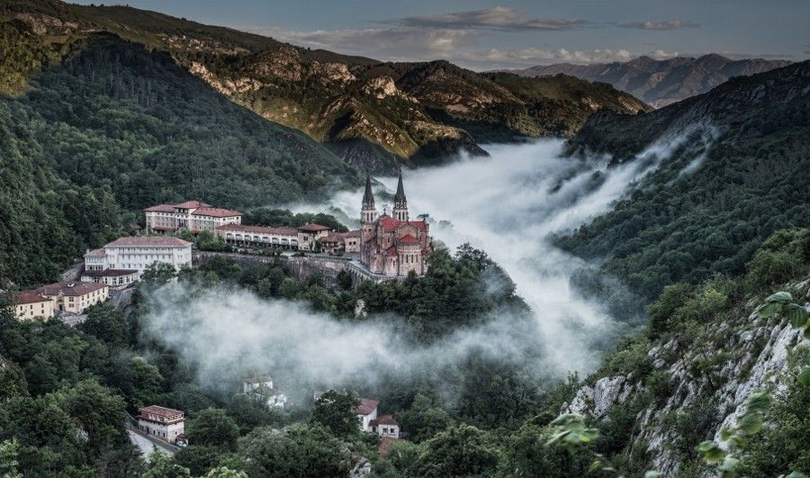 Photo COVADONGA by WilsonAxpe /  Scott Wilson on 500px La Basilica de Covadonga, Asturias, Spain.