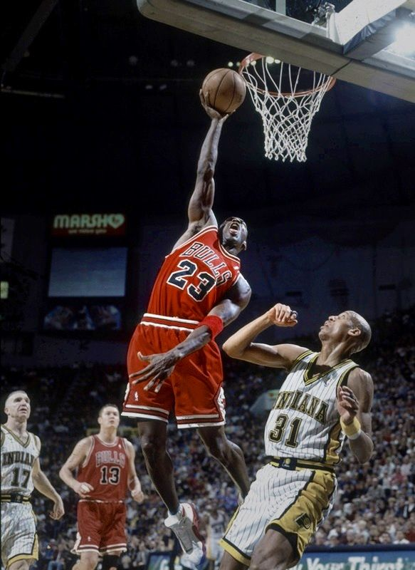Michael over Reggie.