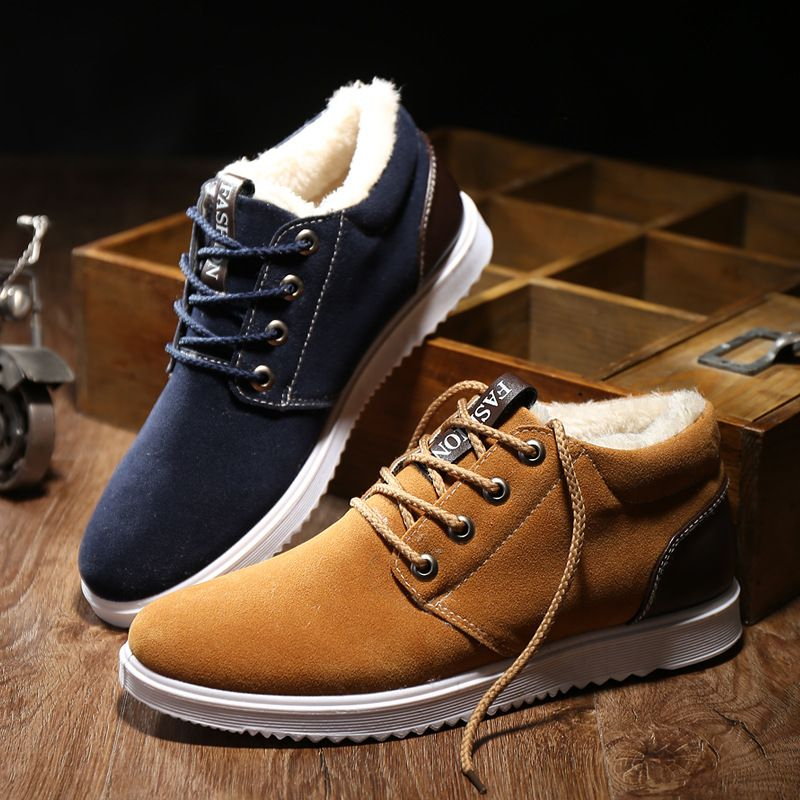 Men's Autumn and Winter Casual Low Shoes Fashion Shoes