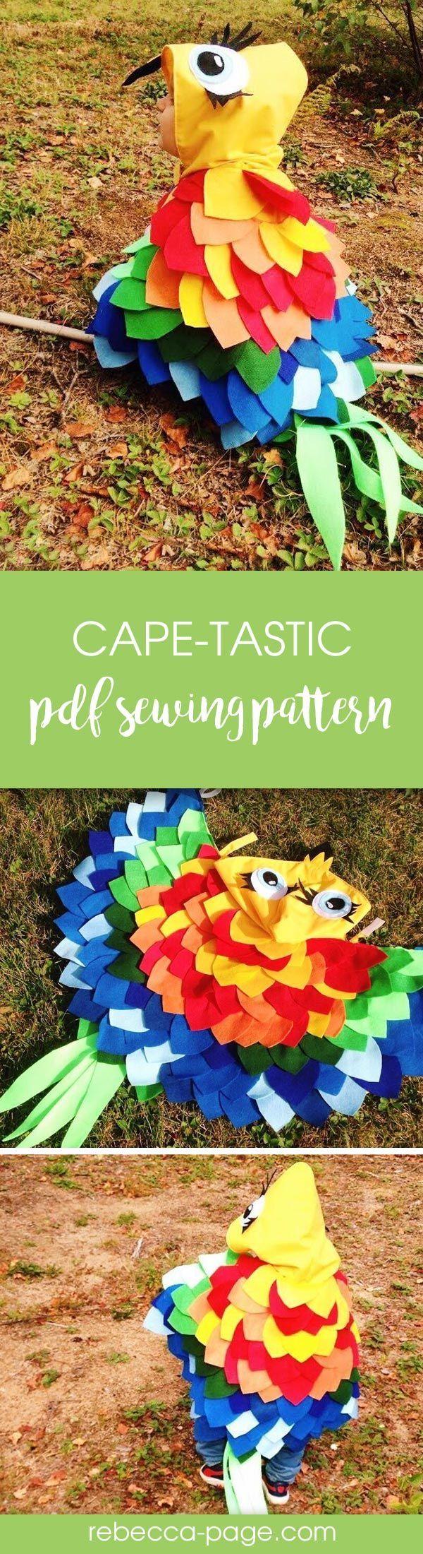 BUNDLE Cape-tastic - Children and Adults Cape PDF Sewing Pattern ...