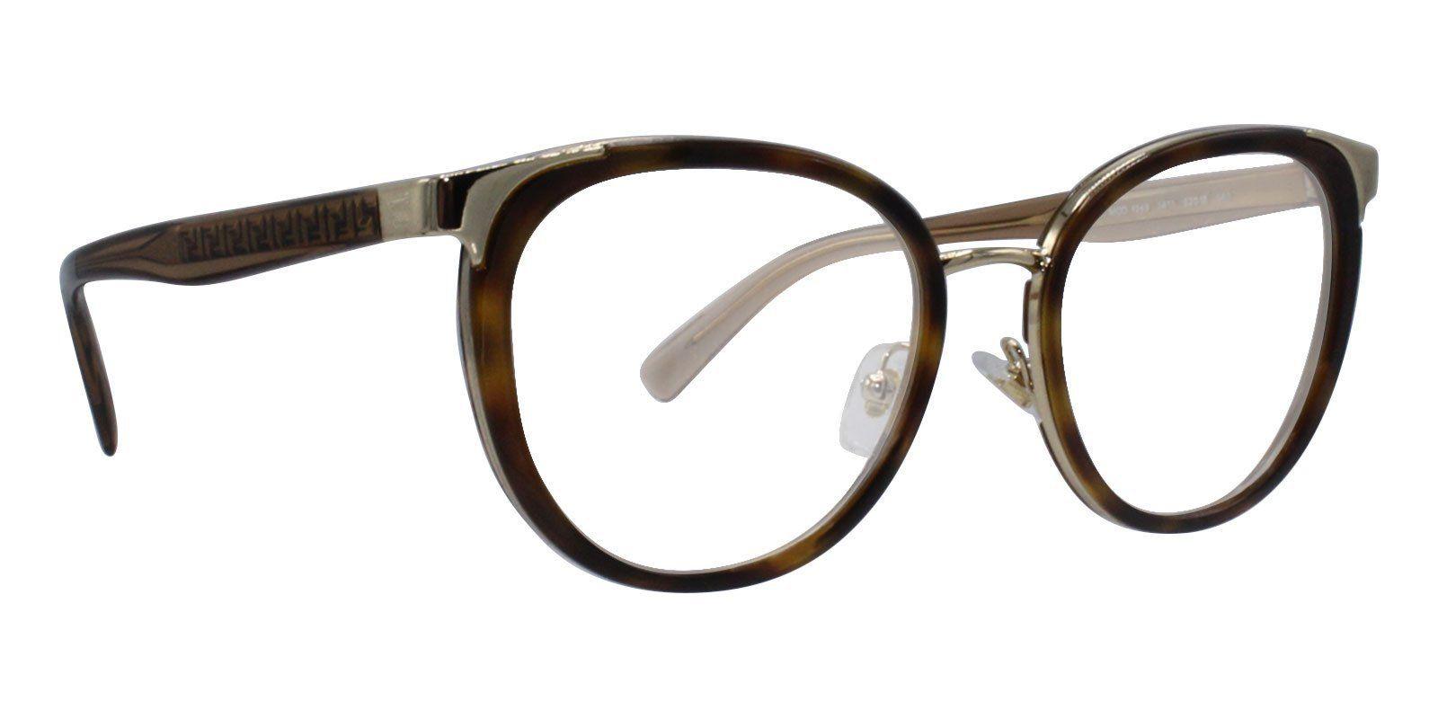 da2dcf14a0f29 Versace - VE1249 Tortoise Gold-eyeglasses-Designer Eyes