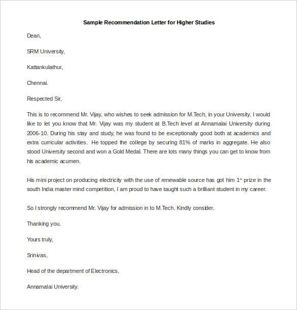 10 recommendation letter samples word excel pdf templates 10 recommendation letter samples word excel pdf templates spiritdancerdesigns Images