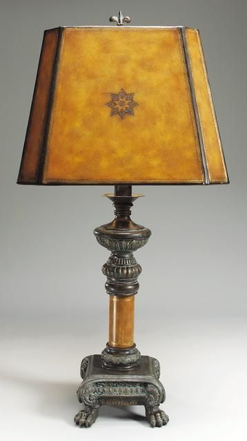 pin matlin lamps furniture by of maitland lamp images bronze smith
