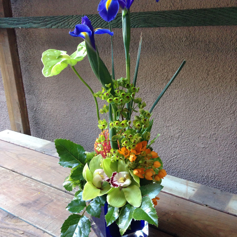 Iris / anthurium