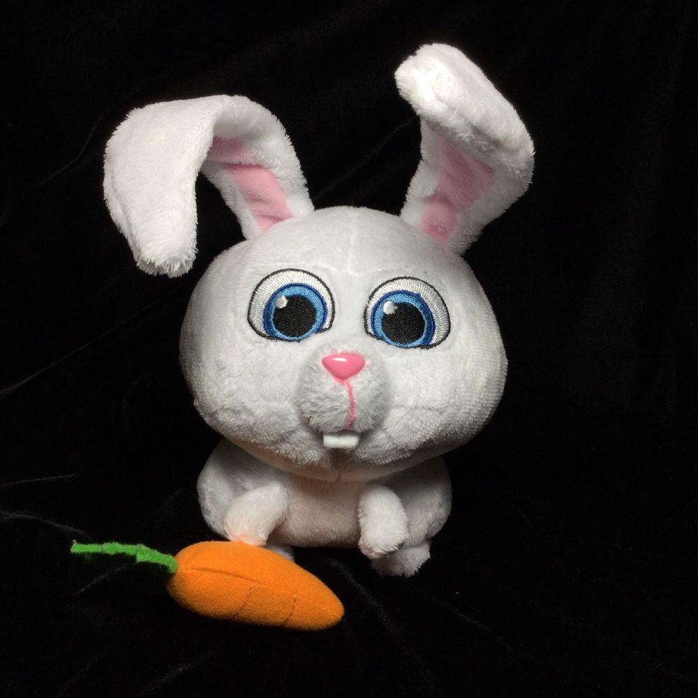 The Secret Life Of Pets Snowball Carrot Evil Bunny Rabbit Plush