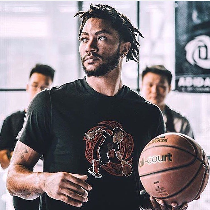In China Derrick Rose Was Asked By A Fan If Hes Going To Cut His