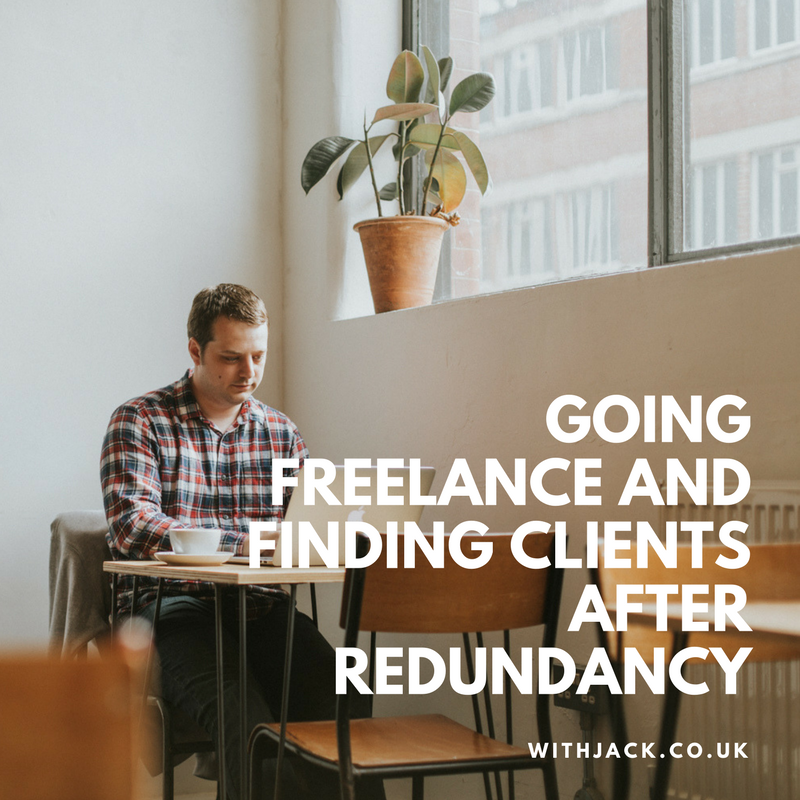 We interviewed Martin on going freelance and finding clients after redundancy.