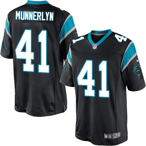 Youth Nike Carolina Panthers  41 Captain Munnerlyn Limited Black Team Color  NFL Jersey 2c1daad9b