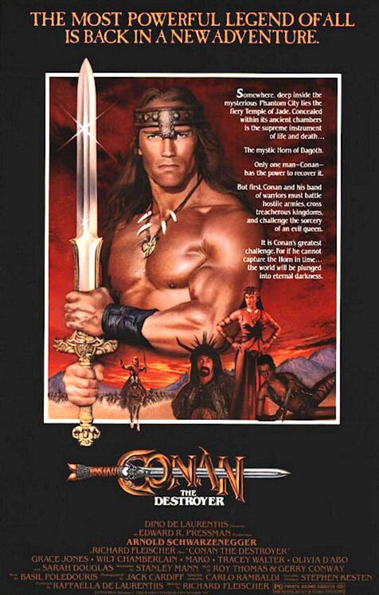 Film Conan Poster Com Imagens Conan Barbaro Posteres De