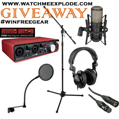 free recording gear giveaway