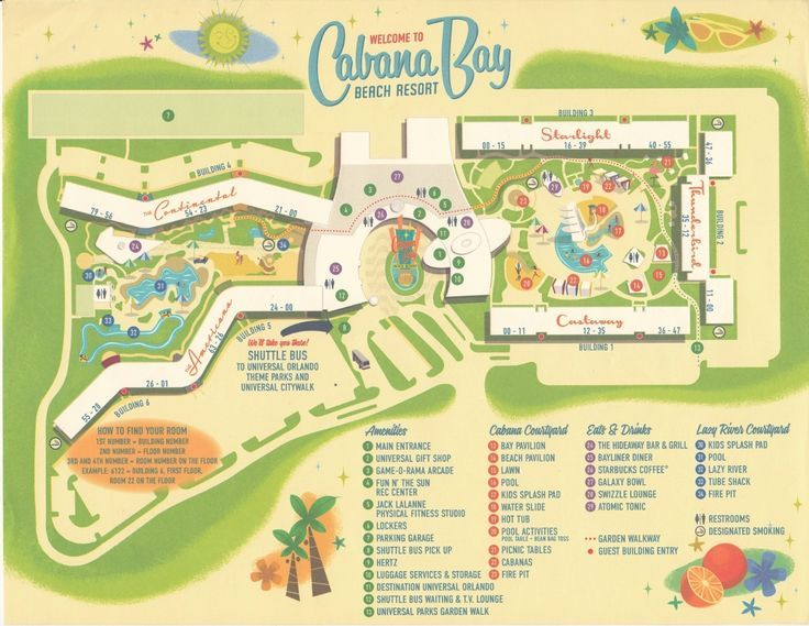 Universal Orlando Resorts Review And Photo Tour Of Cabana Bay Beach Resort From Yourfirstvisit