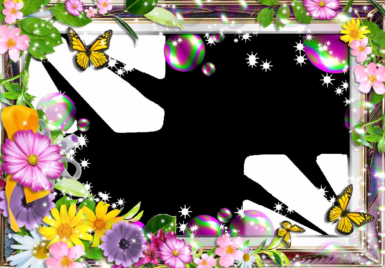 Картинки с рамками для лета
