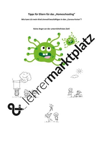 Elternbrief Tipps Fur Homeschooling Wahrend Corona Unterrichtsmaterial In Den Fachern Deutsch Fachubergreifendes Mathematik Sachunterricht Elternbriefe Lehrer Briefe Unterrichtsmaterial