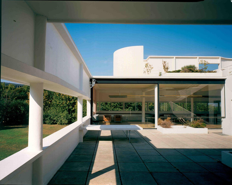 Le case di le corbusier foto 1 livingcorriere il for Architettura moderna case