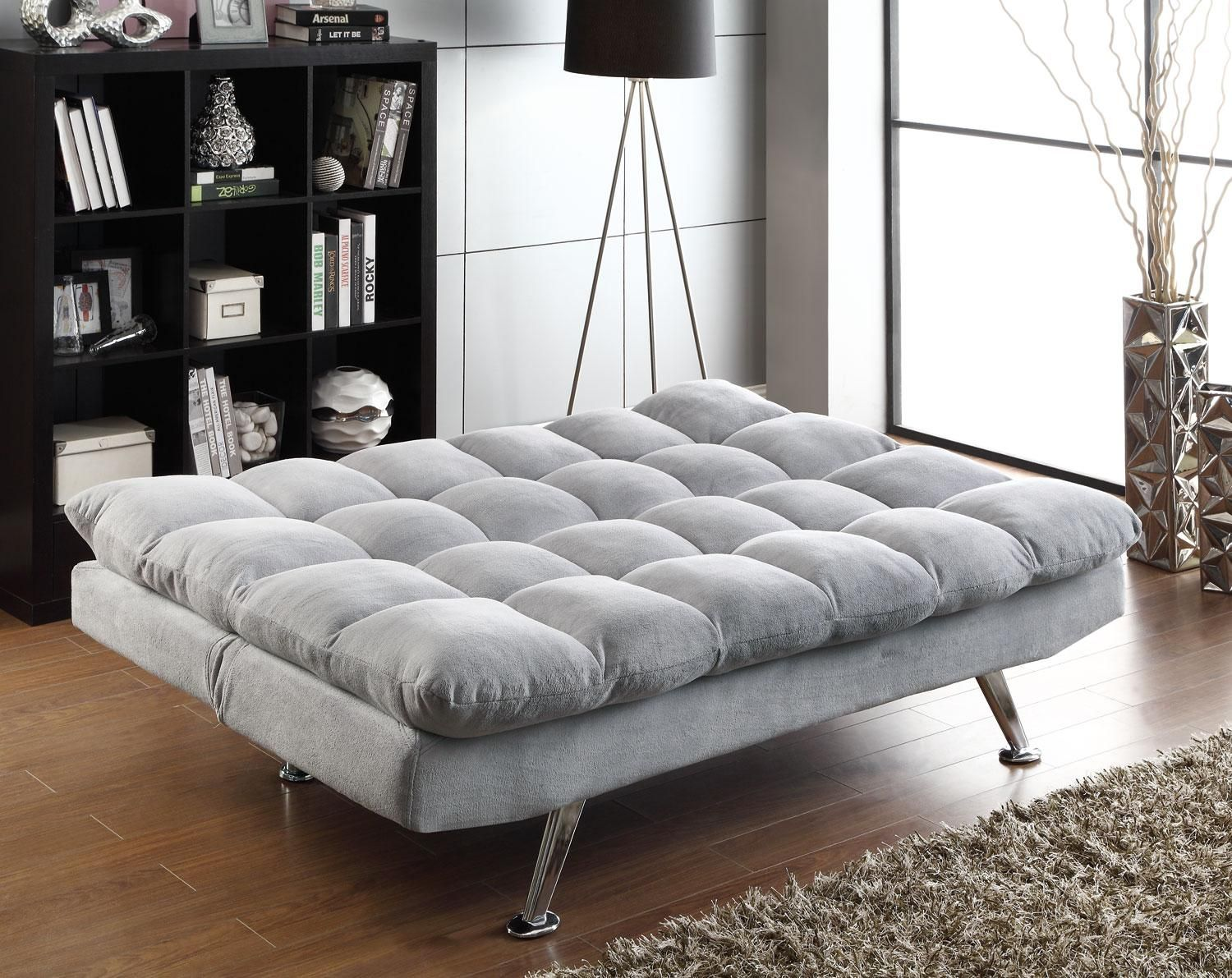 Futons sofa bed sleeper coaster furniture 500775 stores for Capitola convertible chaise sofa